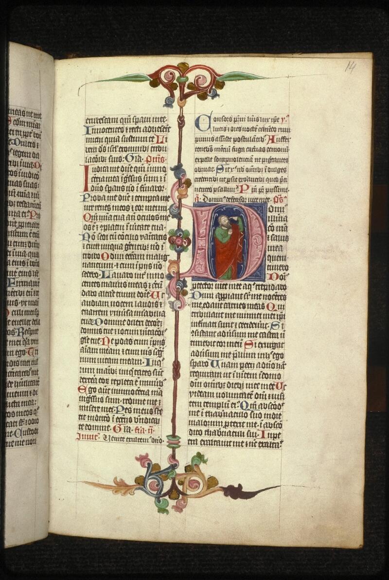 Prague, Musée nat., Bibl., XVI. B. 14, f. 014 - vue 1