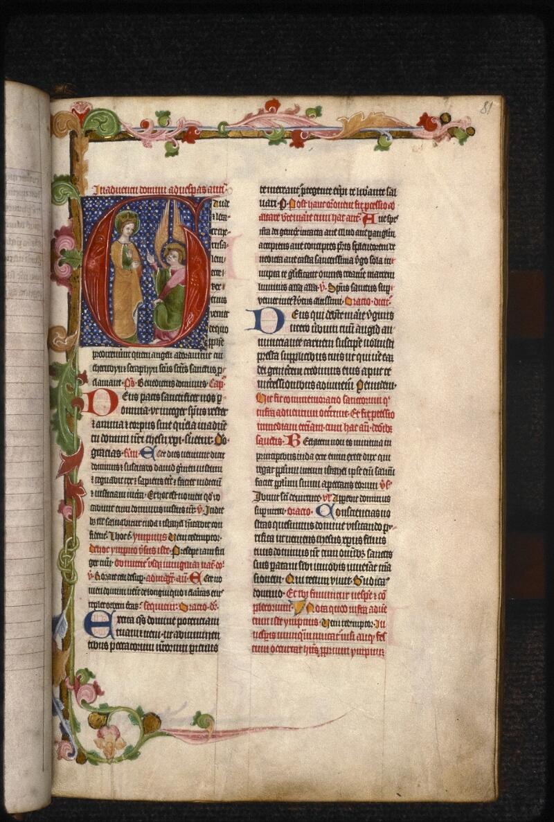 Prague, Musée nat., Bibl., XVI. B. 14, f. 081 - vue 1