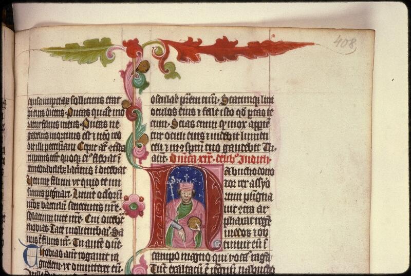 Prague, Musée nat., Bibl., XVI. B. 14, f. 408