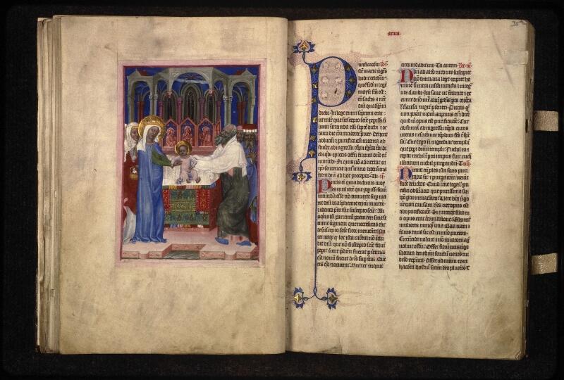 Prague, Musée nat., Bibl., XVI. D. 13, f. 034v-035