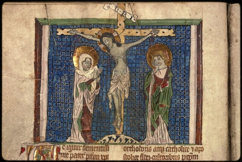 Prague, Musée nat., Bibl., XVI. D. 14, f. 009v - vue 3