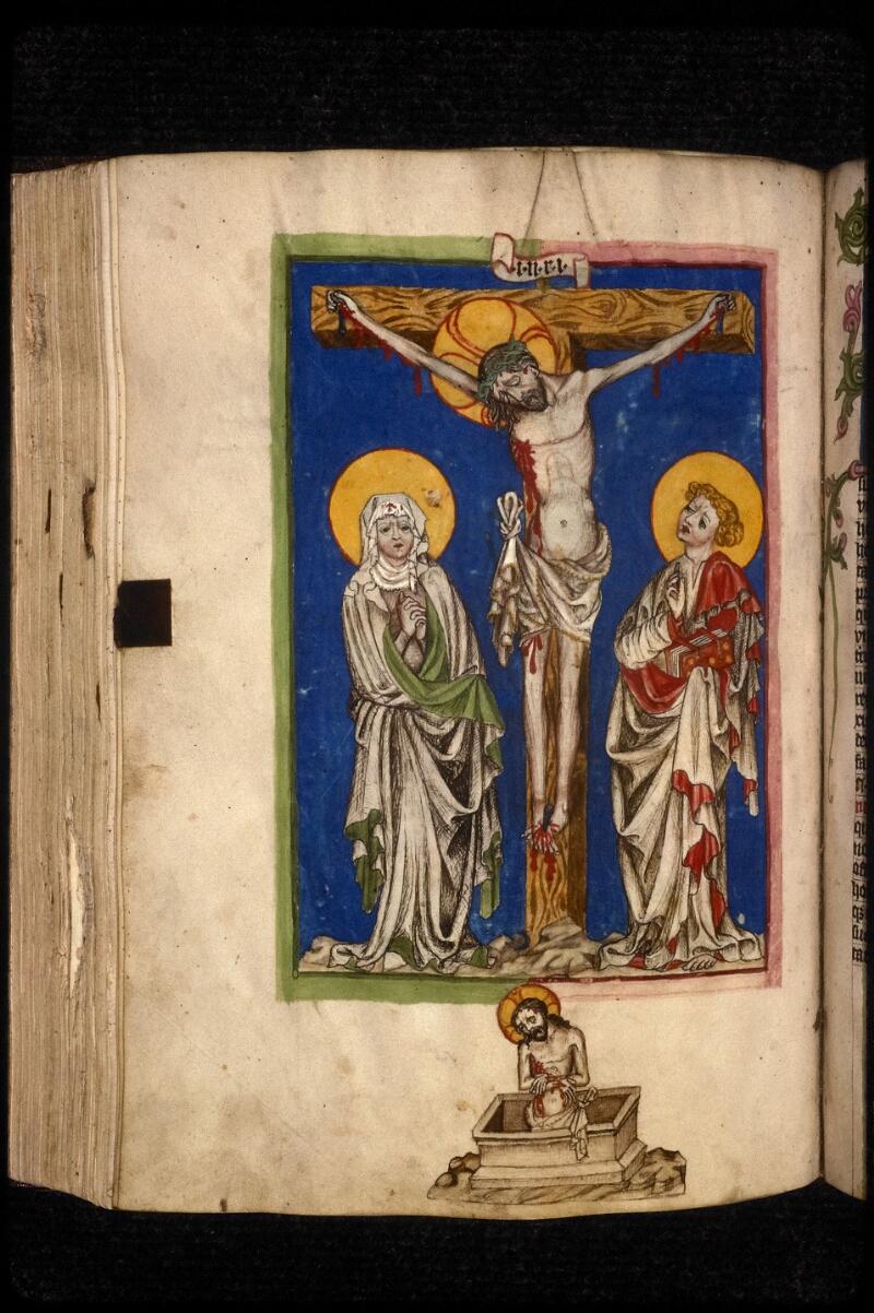 Prague, Musée nat., Bibl., XVI. D. 16, f. 154v - vue 2