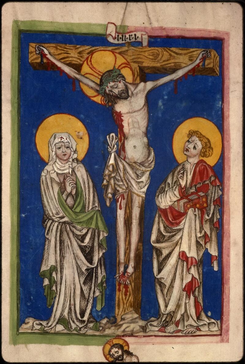 Prague, Musée nat., Bibl., XVI. D. 16, f. 154v - vue 3