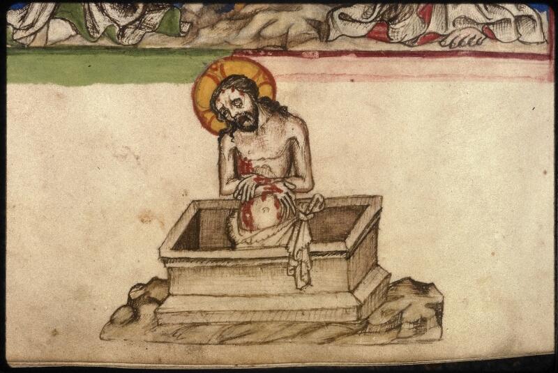 Prague, Musée nat., Bibl., XVI. D. 16, f. 154v - vue 4