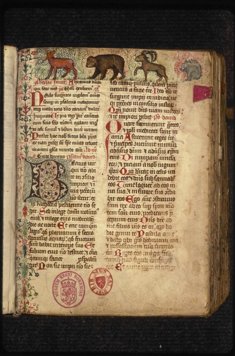 Prague, Musée nat., Bibl., XVI. F. 10, f. 007 - vue 2