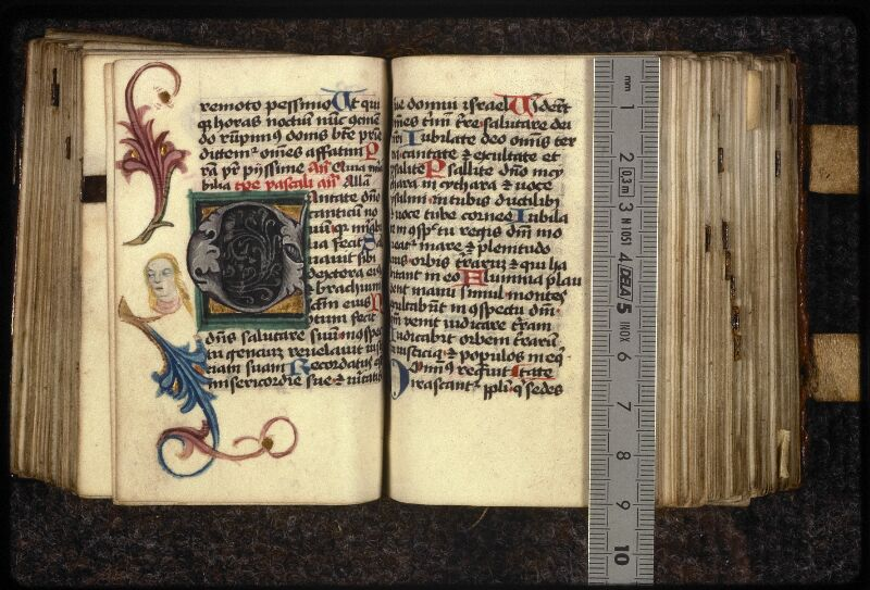 Prague, Musée nat., Bibl., XVI. G. 31, f. 109v-110 - vue 1