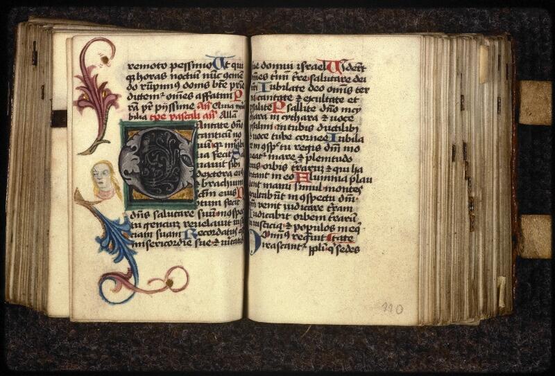 Prague, Musée nat., Bibl., XVI. G. 31, f. 109v-110 - vue 2