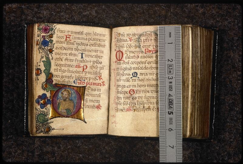 Prague, Musée nat., Bibl., XVI. G. 78, 2, f. 059v-060 - vue 1