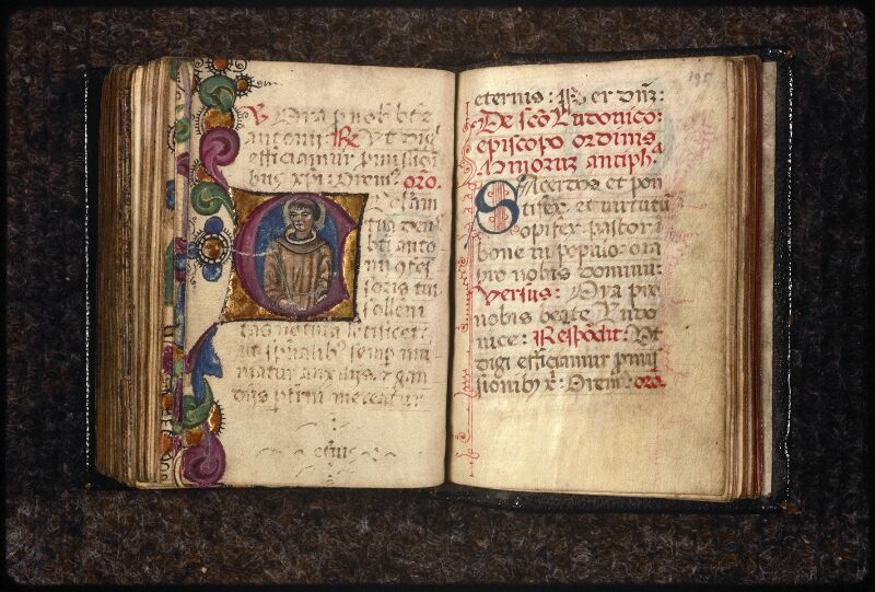 Prague, Musée nat., Bibl., XVI. G. 78, 2, f. 194v-195