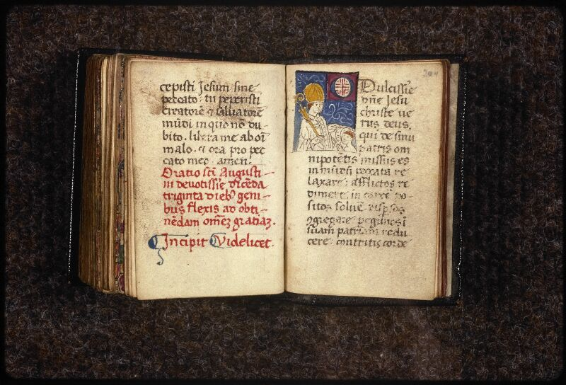 Prague, Musée nat., Bibl., XVI. G. 78, 2, f. 203v-204
