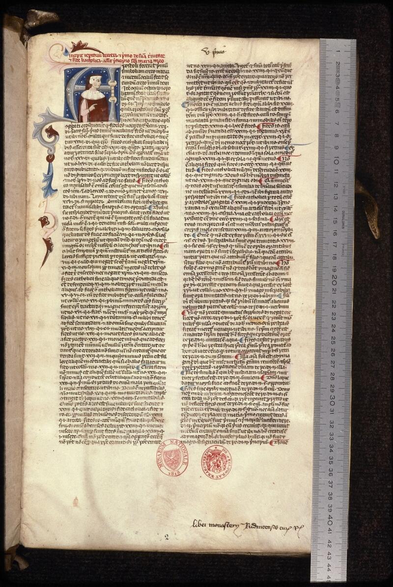 Prague, Musée nat., Bibl., XVII. A. 05, f. 002 - vue 1