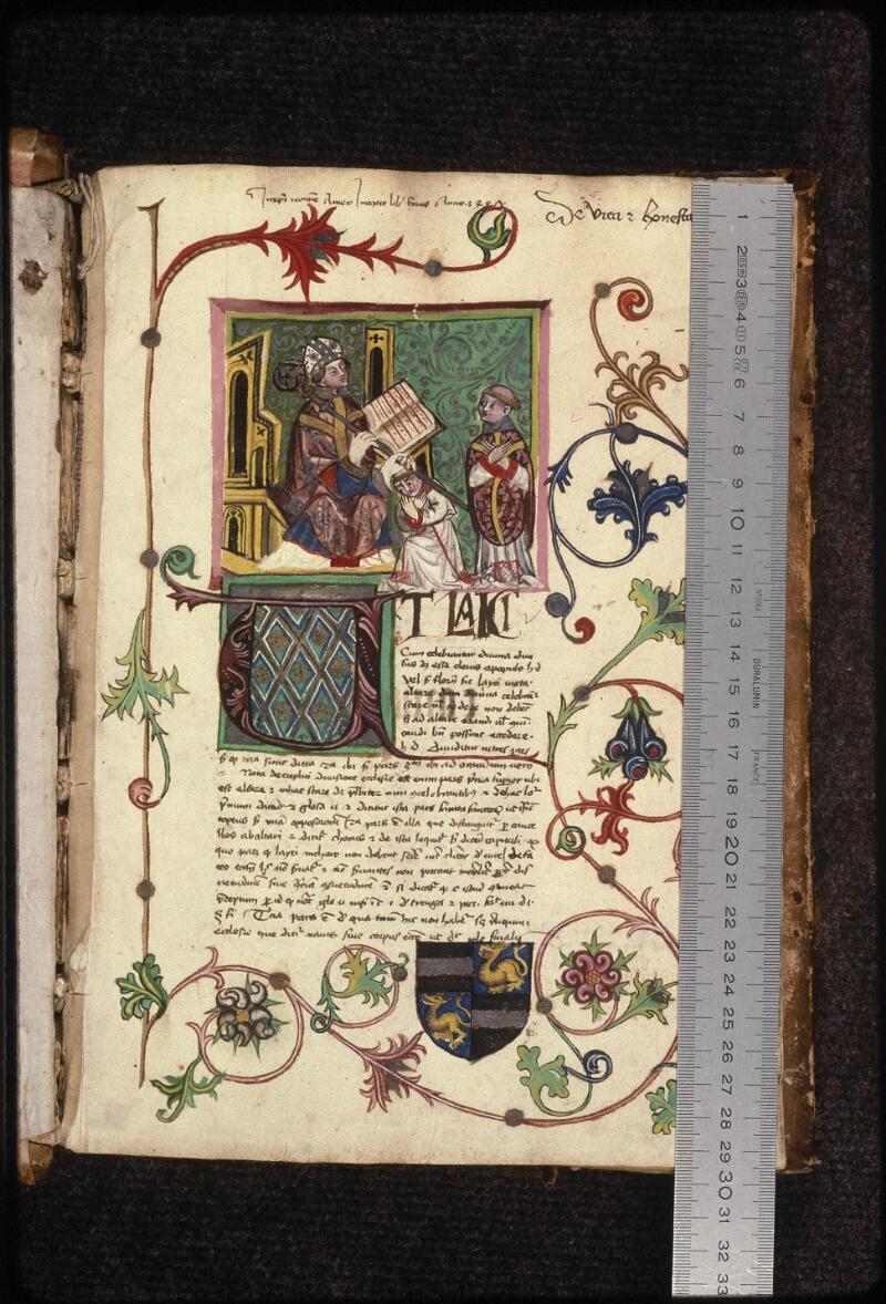 Prague, Musée nat., Bibl., XVII. C. 18 b, f. 001 - vue 1