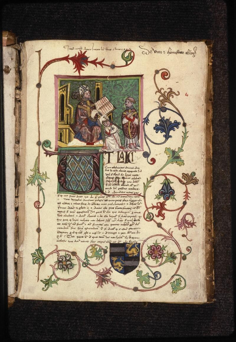 Prague, Musée nat., Bibl., XVII. C. 18 b, f. 001 - vue 2