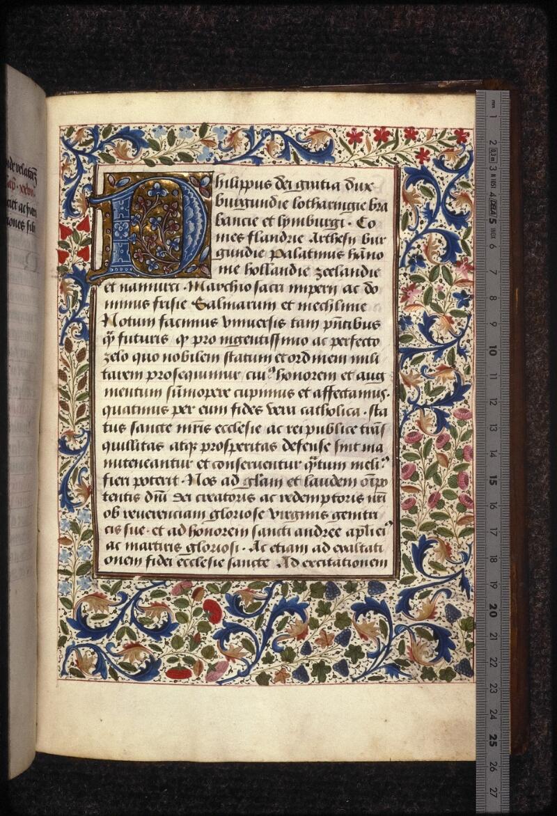 Prague, Musée nat., Bibl., XVII. E. 21, f. 013 - vue 1