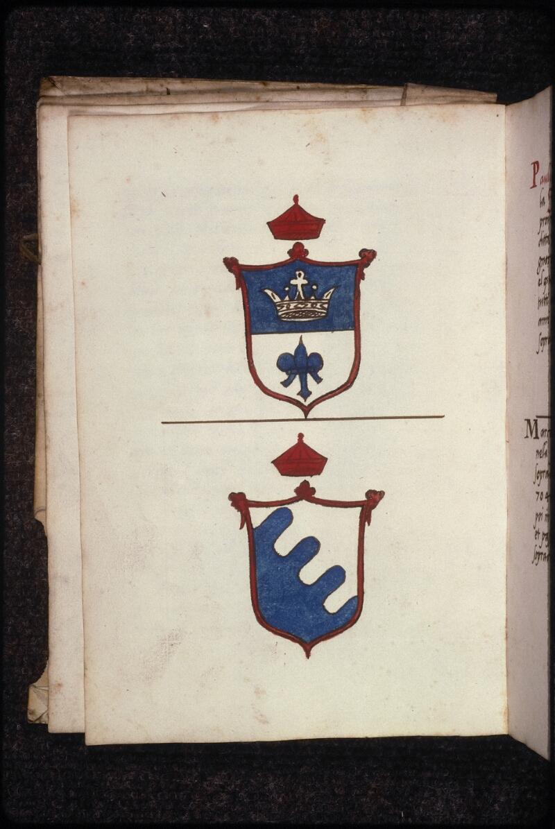 Prague, Musée nat., Bibl., XVII. F. 14, f. 003v - vue 2