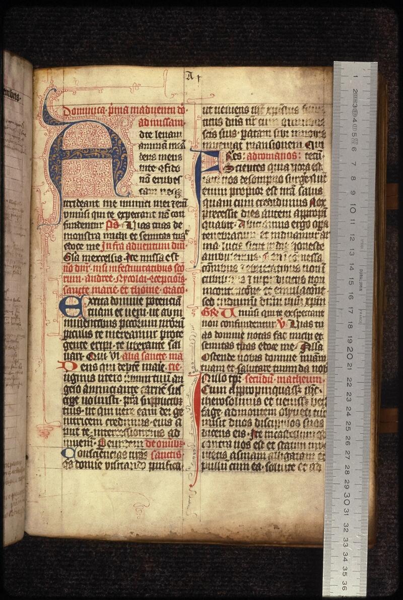 Prague, Musée nat., Bibl., XVIII. A. 25, f. 007 - vue 1