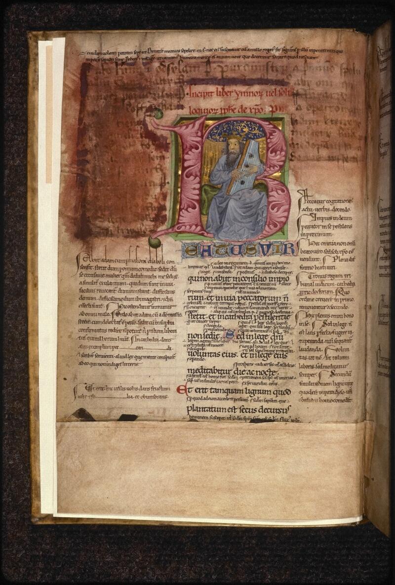Prague, Musée nat., Bibl., XVIII. A. 26, f. 001v - vue 2