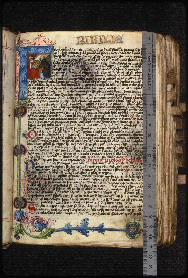 Prague, Musée nat., Bibl., XVIII. B. 18, f. 012 - vue 1
