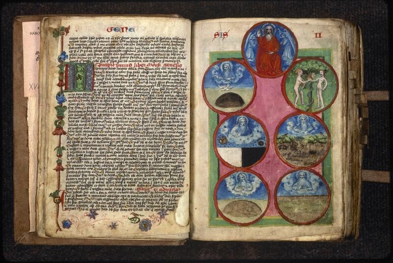 Prague, Musée nat., Bibl., XVIII. B. 18, f. 014v-015