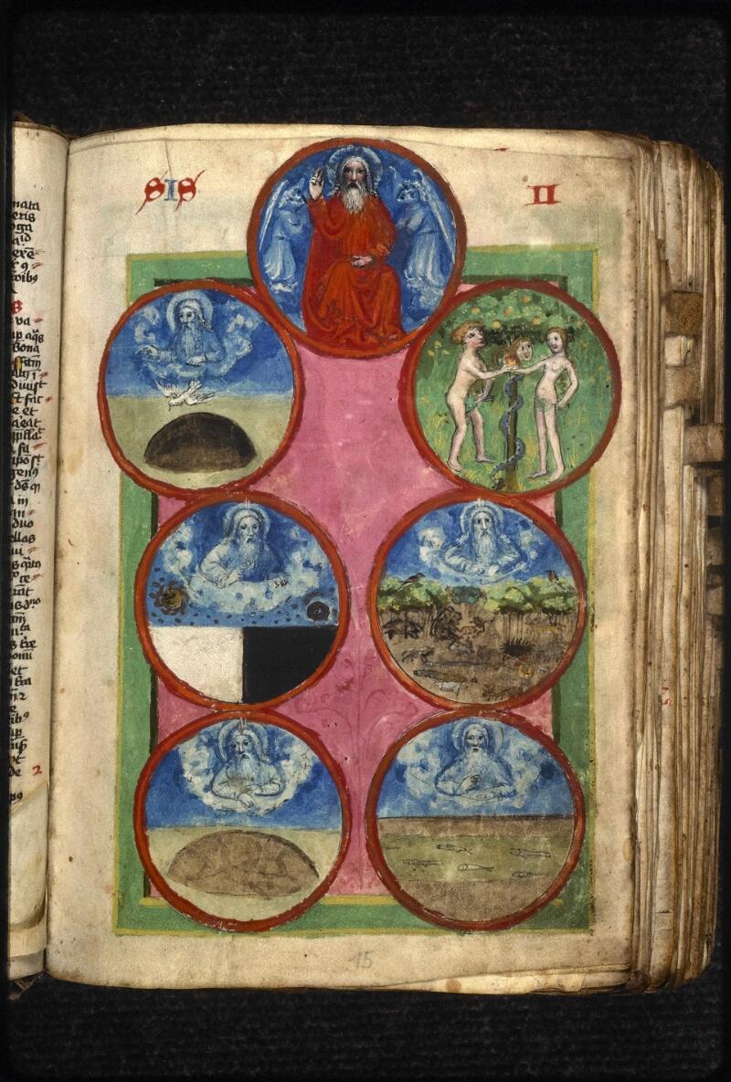 Prague, Musée nat., Bibl., XVIII. B. 18, f. 015 - vue 1
