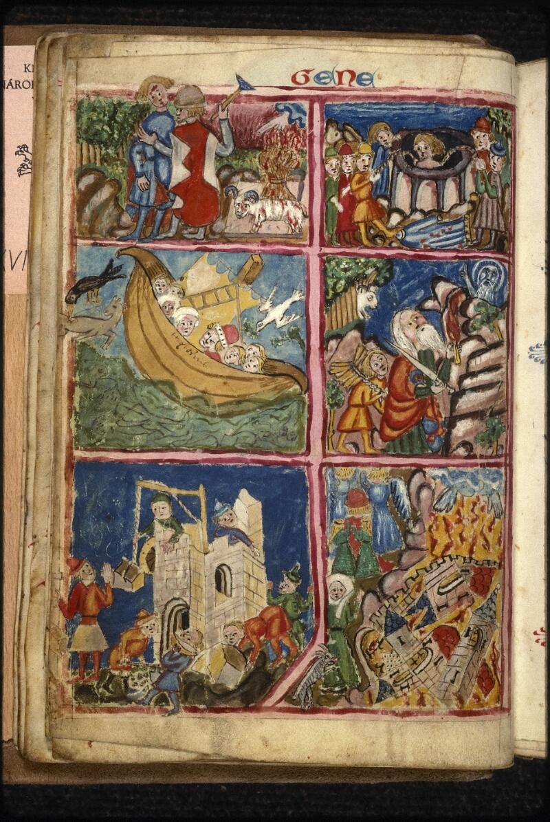 Prague, Musée nat., Bibl., XVIII. B. 18, f. 015v - vue 1