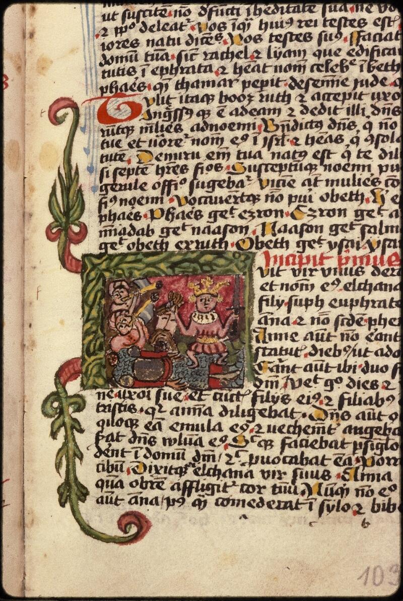 Prague, Musée nat., Bibl., XVIII. B. 18, f. 103