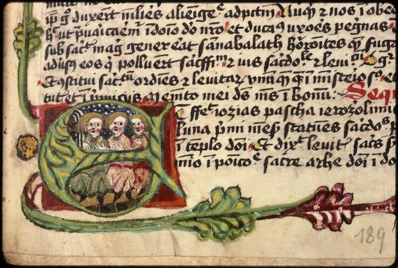 Prague, Musée nat., Bibl., XVIII. B. 18, f. 189