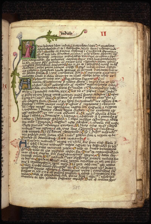 Prague, Musée nat., Bibl., XVIII. B. 18, f. 200 - vue 1