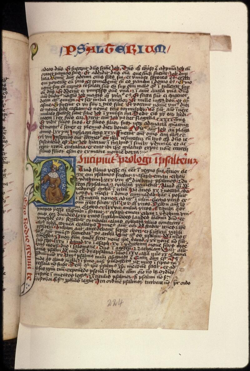 Prague, Musée nat., Bibl., XVIII. B. 18, f. 224