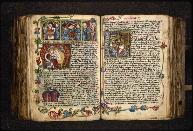 Prague, Musée nat., Bibl., XVIII. B. 18, f. 396v-397