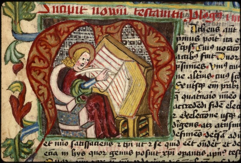 Prague, Musée nat., Bibl., XVIII. B. 18, f. 396v - vue 2