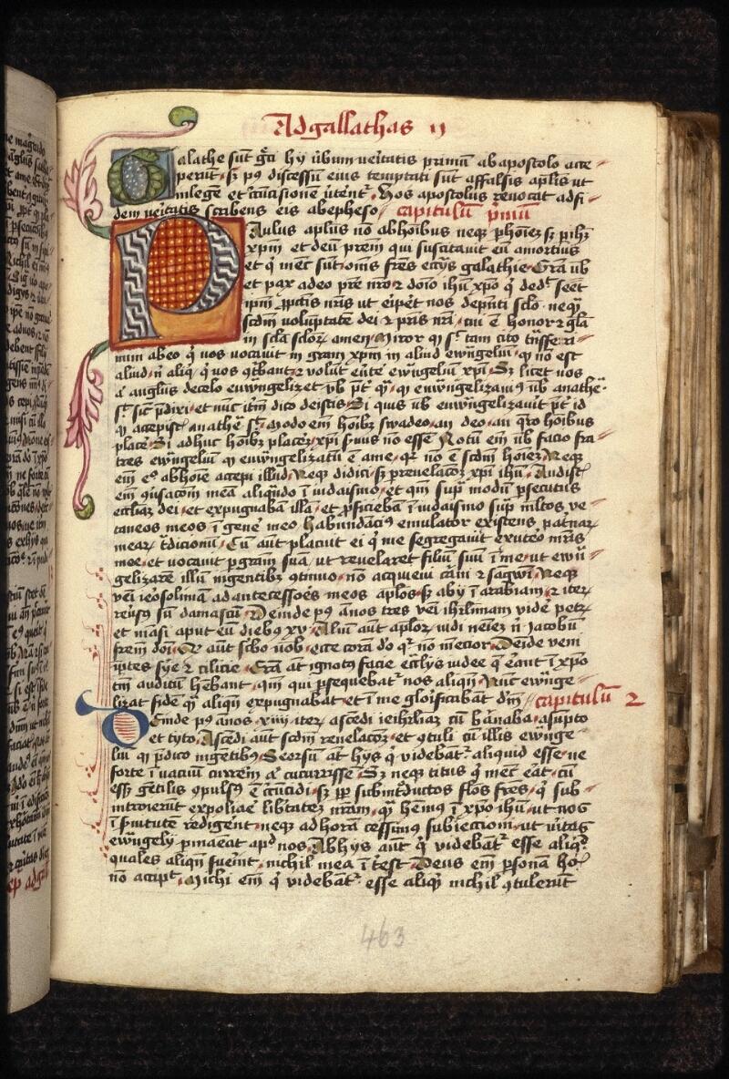 Prague, Musée nat., Bibl., XVIII. B. 18, f. 463