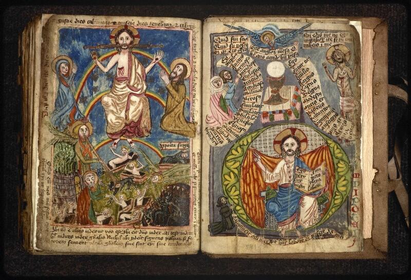 Prague, Musée nat., Bibl., XVIII. B. 18, f. 540v-541
