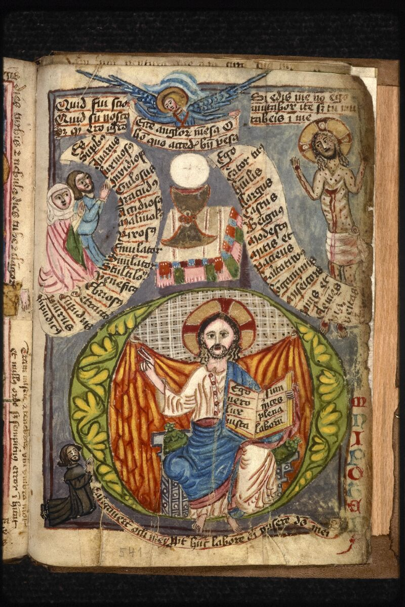 Prague, Musée nat., Bibl., XVIII. B. 18, f. 541 - vue 1
