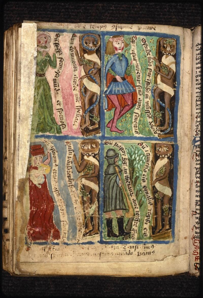 Prague, Musée nat., Bibl., XVIII. B. 18, f. 542v - vue 1