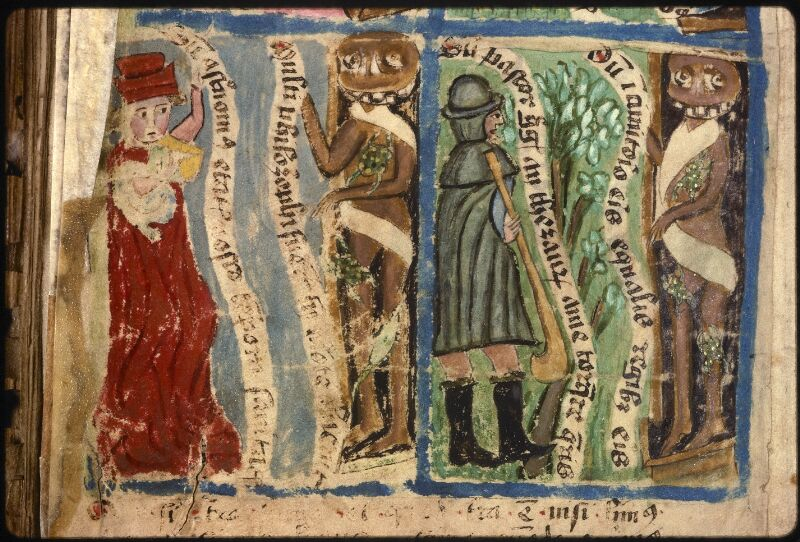 Prague, Musée nat., Bibl., XVIII. B. 18, f. 542v - vue 3