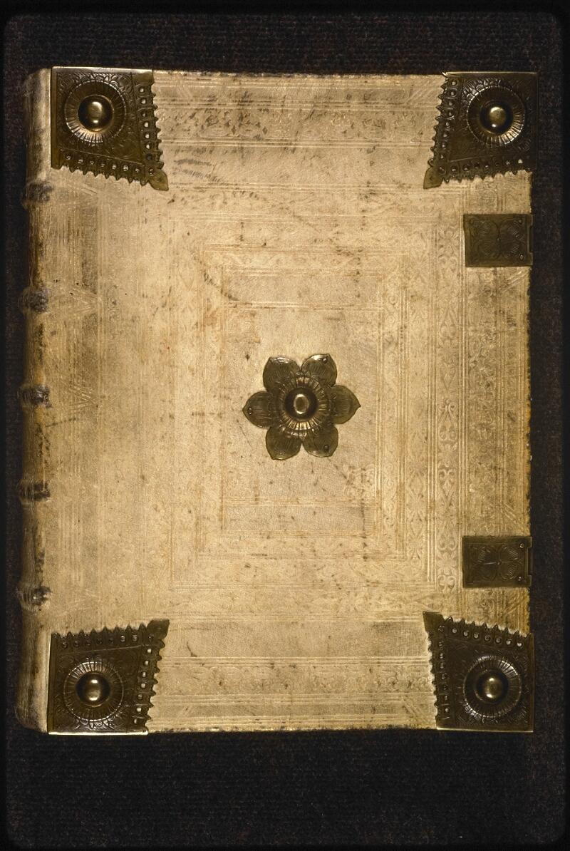 Prague, Musée nat., Bibl., XVIII. B. 35, reliure plat sup.