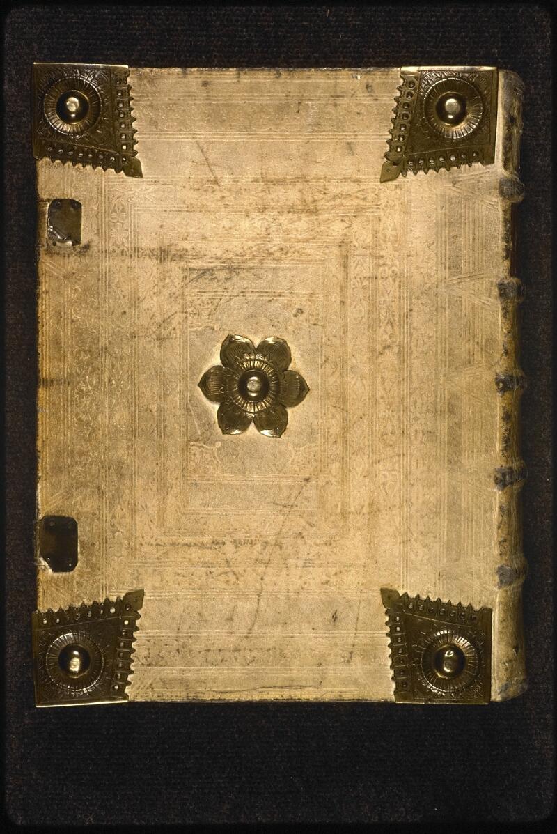 Prague, Musée nat., Bibl., XVIII. B. 35, reliure plat inf.