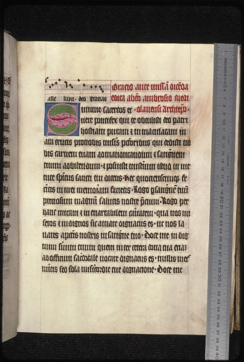 Prague, Musée nat., Bibl., XVIII. B. 35, f. 023 - vue 1