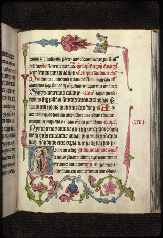 Prague, Musée nat., Bibl., XVIII. B. 35, f. 114 - vue 1