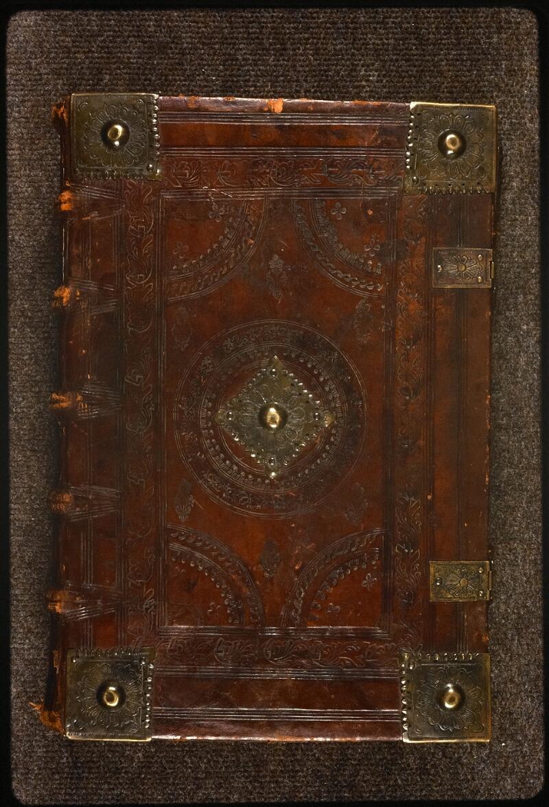 Prague, Musée nat., Bibl., XVIII. E. 16, reliure plat sup.