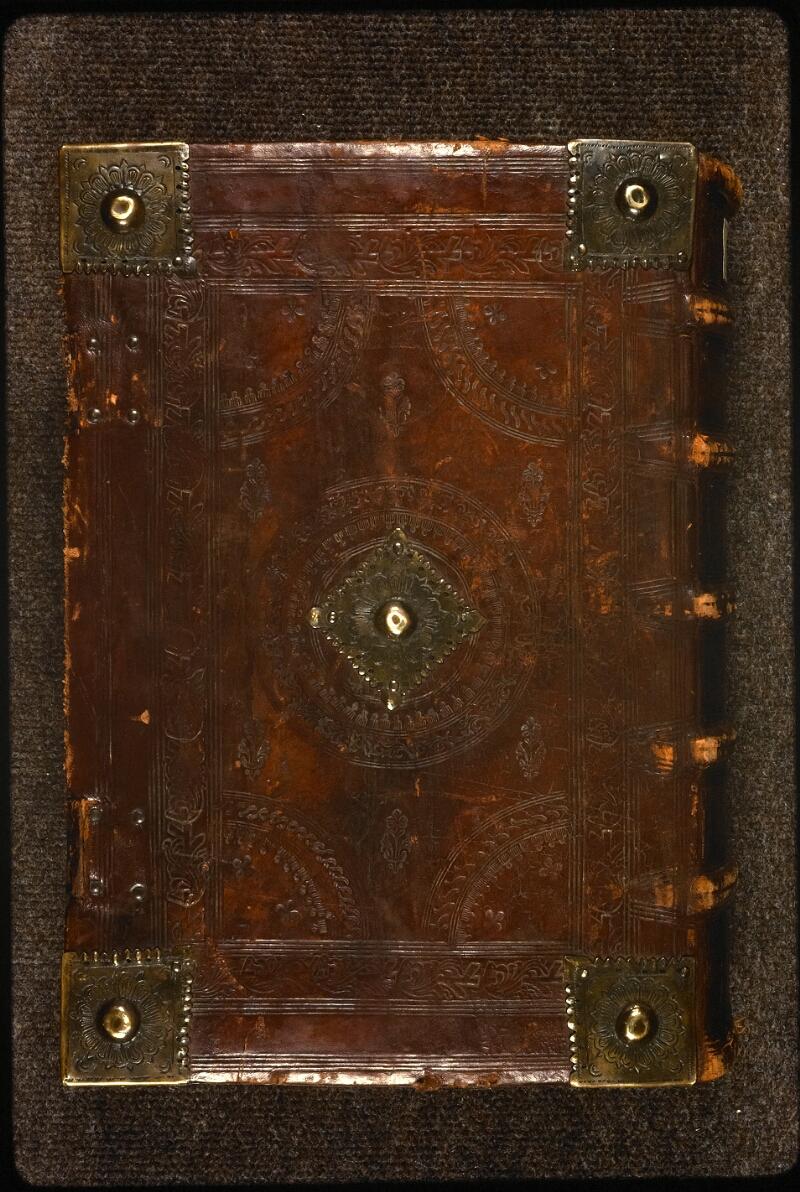 Prague, Musée nat., Bibl., XVIII. E. 16, reliure plat inf.