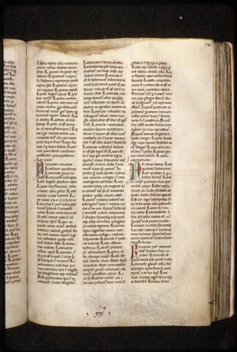 Prague, Musée nat., Bibl., X. A. 11, f. 143
