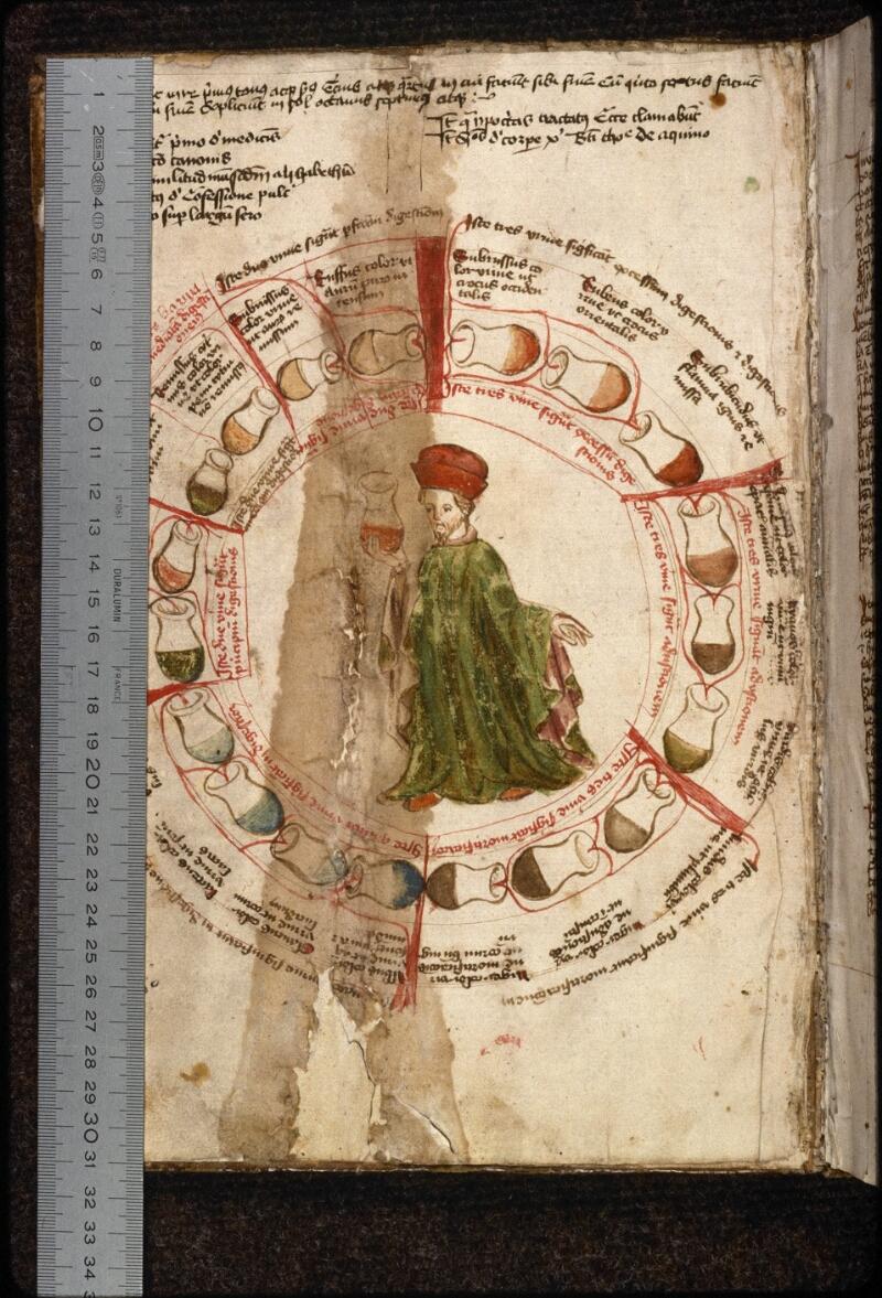 Prague, Musée nat., Bibl., XI. A. 27, f. 001v - vue 1