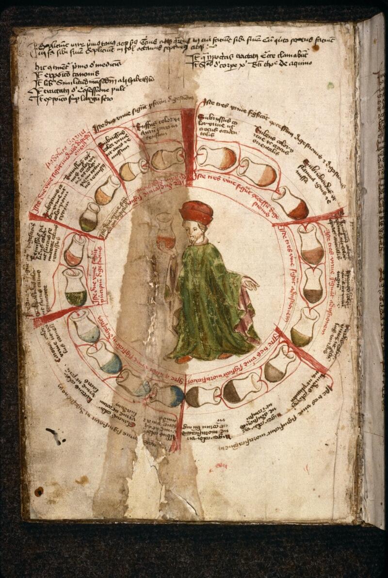 Prague, Musée nat., Bibl., XI. A. 27, f. 001v - vue 2