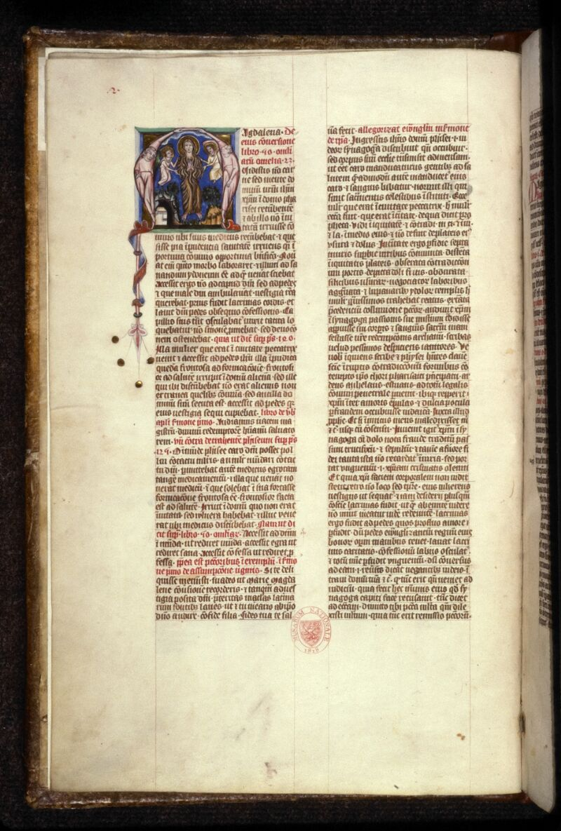 Prague, Musée nat., Bibl., XII. A. 03, f. 002v - vue 2