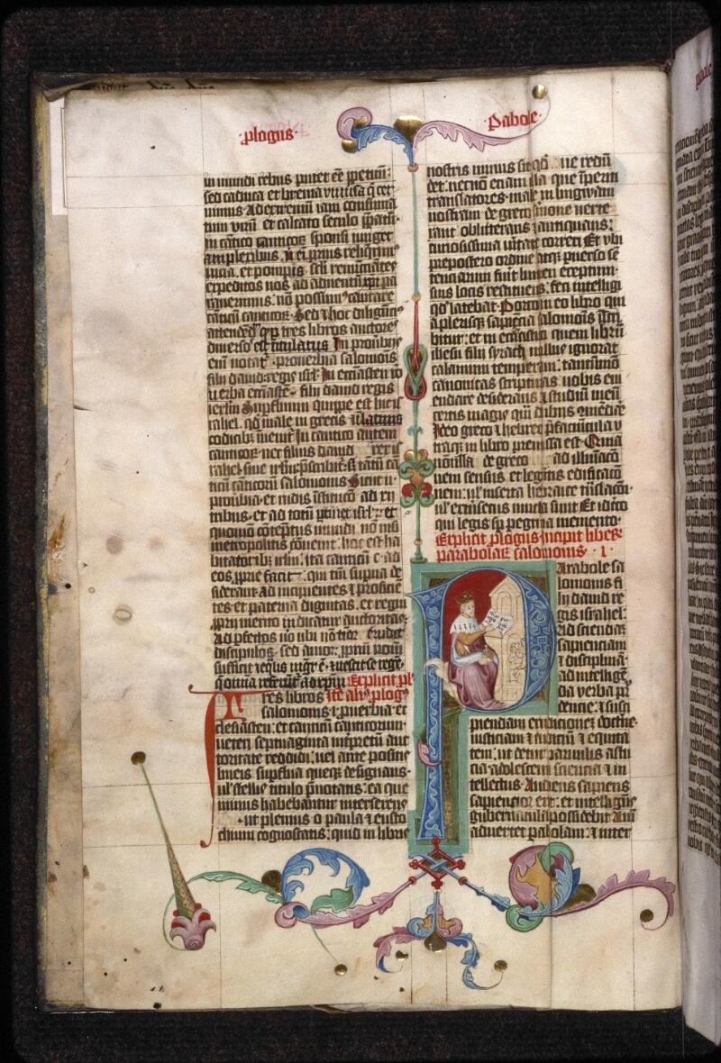 Prague, Musée nat., Bibl., XII. A. 09, f. 001v - vue 2
