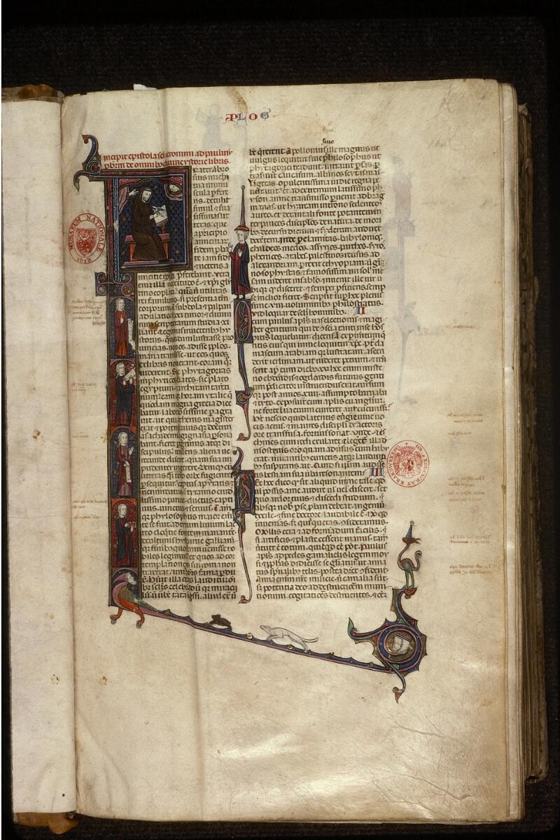 Prague, Musée nat., Bibl., XII. A. 10, f. 001 - vue 2