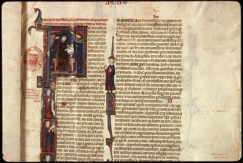 Prague, Musée nat., Bibl., XII. A. 10, f. 001 - vue 3