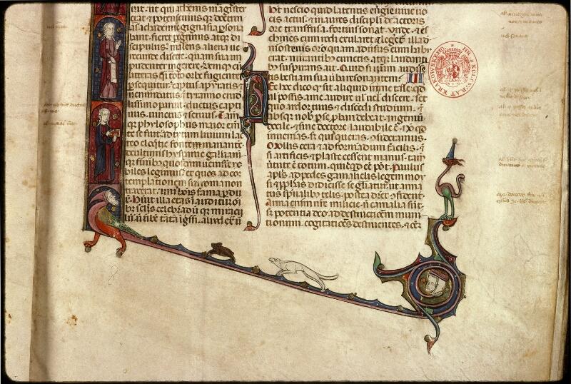 Prague, Musée nat., Bibl., XII. A. 10, f. 001 - vue 4